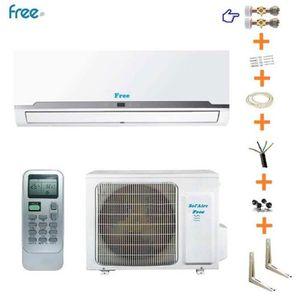 CLIMATISEUR FIXE Climatiseur réversible 3.5 kW Sol'Aire Free kit (s