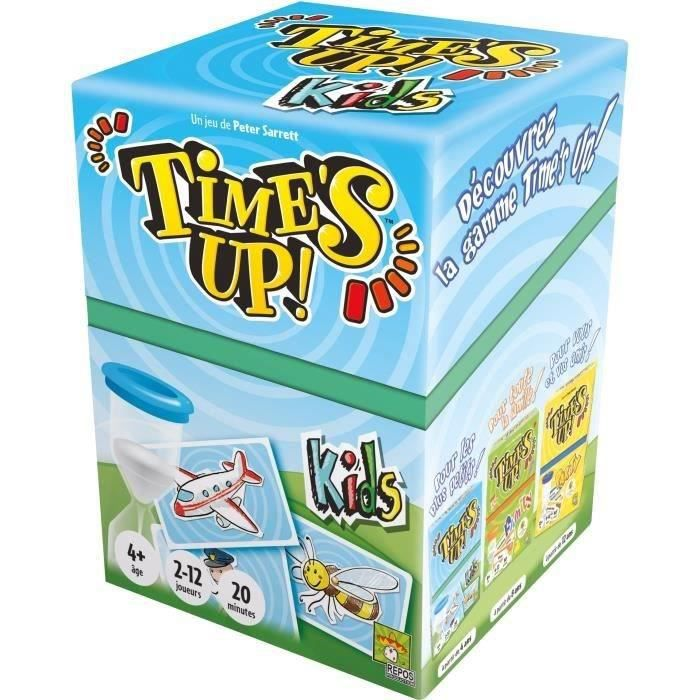 Time's Up! Kids est le Time's Up! des petits. Plus besoin de savoir lire : toutes les cartes sont illustrées ! Livré à l'unité - A partir de 6 ansJEU DE SOCIETE - JEU DE PLATEAU