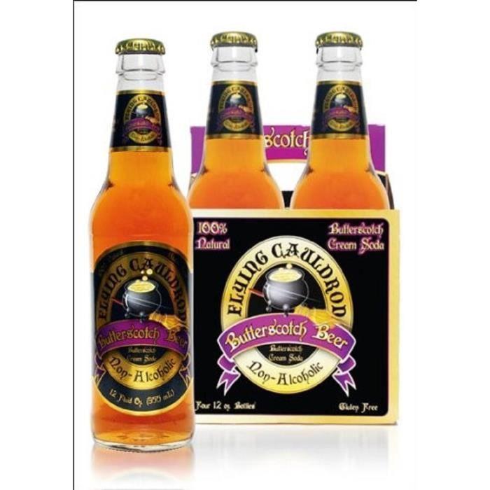 l'avant gardiste Bière au Beurre Harry Potter sans alcool