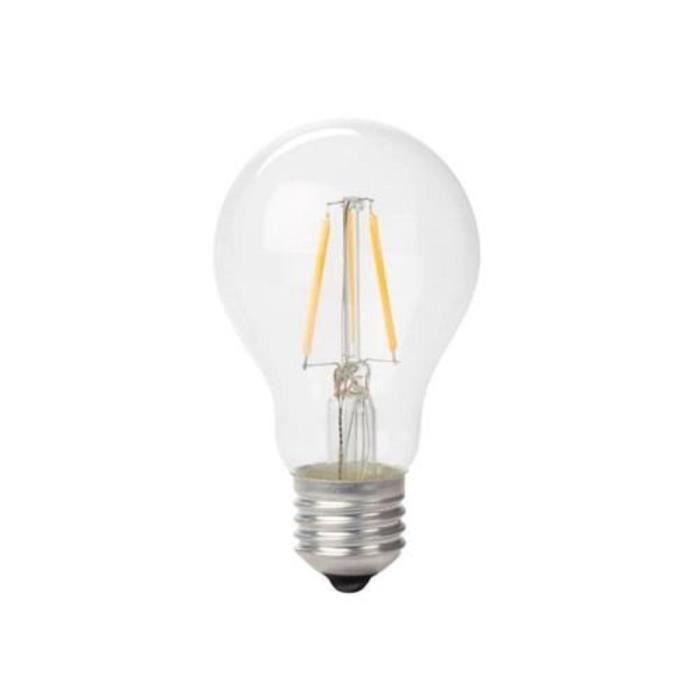 Lampe Ampoule Filament Led Style Retro Poire 2w E27 Blanc Chaud