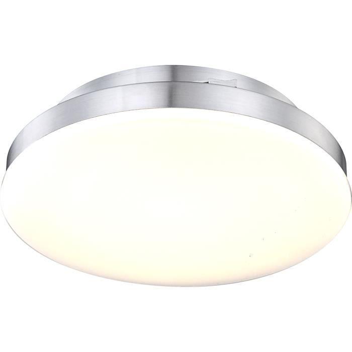 Globo lighting plafonnier alu argent198led 0