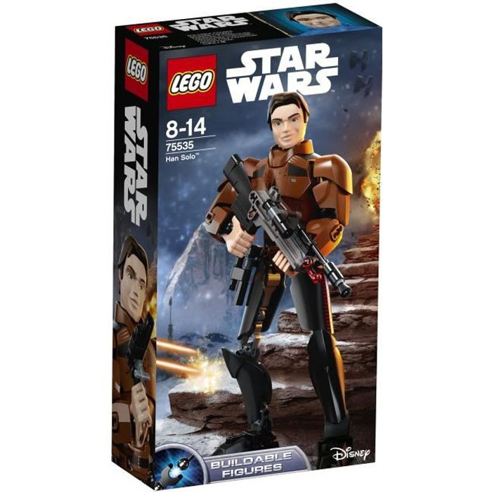 ASSEMBLAGE CONSTRUCTION LEGO® Star Wars™ 75535 Han Solo™