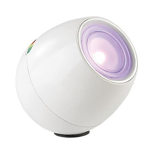 Lampe d\'ambiance 256 couleurs à LED modèle blanc - Achat / Vente ...