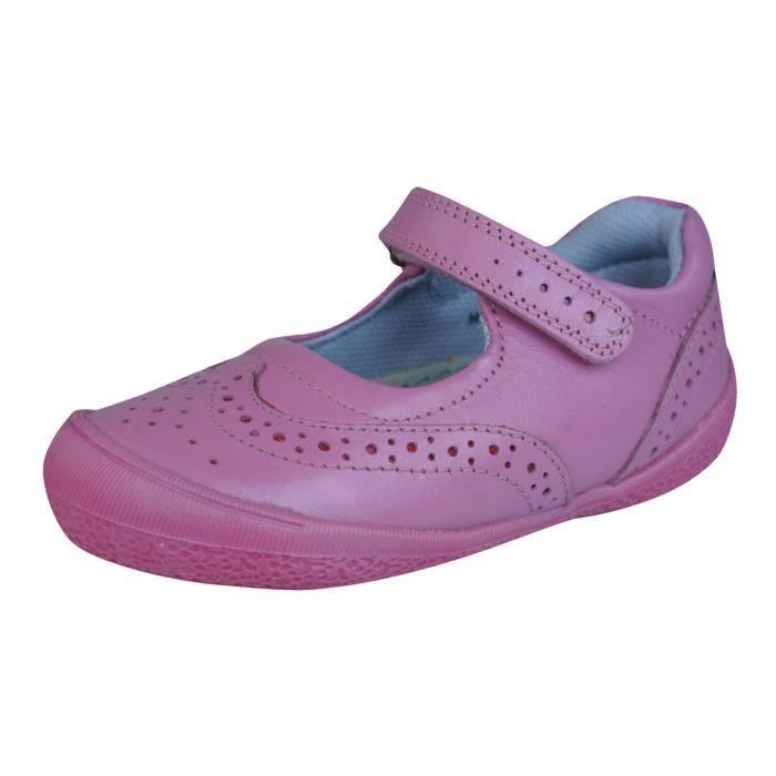 Hush Puppies Rina Cuero niûas zapatos Mary Jane Rose