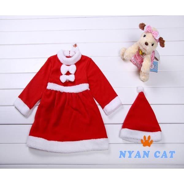 joli noël noël 6 - 24 mois le coton bébé costume dress