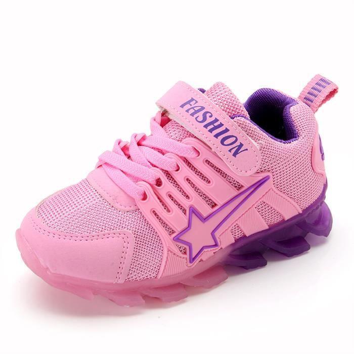 9cb1279263f6c Chaussures LED pour enfants les enfants ont conduit lumières baskets ...