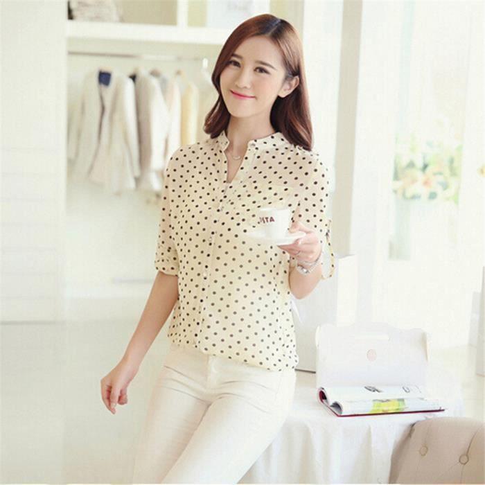 chemise à manches longues Haut qualité chemisier femme manche longue marque  de luxe vetements femmes vetement Grande Taille S-XL 61367988c0a