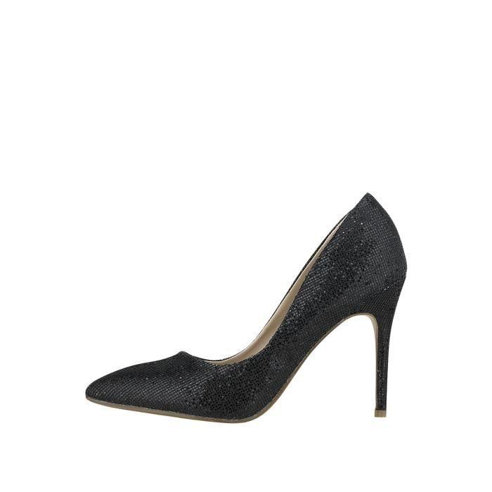2678d1b729682 Chaussure a talon noir pour femme - Achat   Vente pas cher