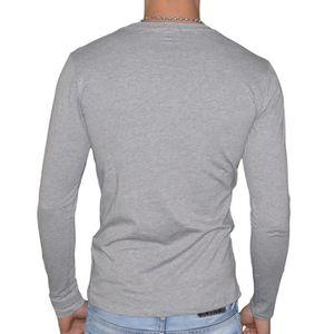 ... T-SHIRT Calvin Klein - T Shirt Manches Longues - Homme - 9. ‹› f848c8a07b3a
