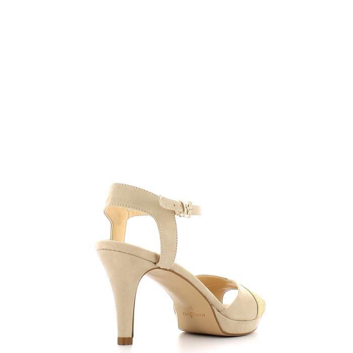hauts talons Grace Femmes Beige à Sandales shoes gqxOfI