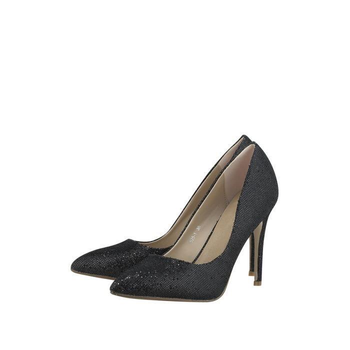 Louvel Chaussures à Talons noir Femme 1175154