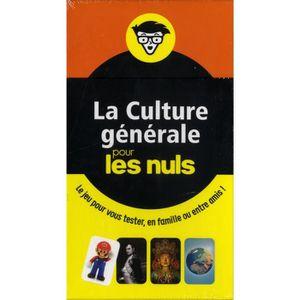 LIVRE JEUX ACTIVITÉS Boîte à questions La culture générale pour les nul