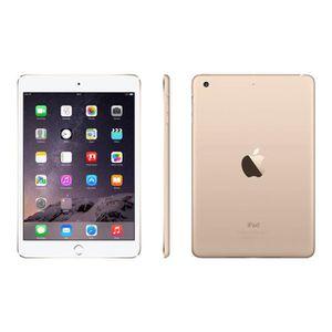 TABLETTE TACTILE Apple Ipad Mini 3 64 Go Wifi Or - Gold