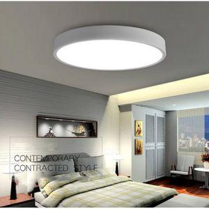 LUSTRE ET SUSPENSION 40x5cm moderne plafonnier LED simple ultra mince l