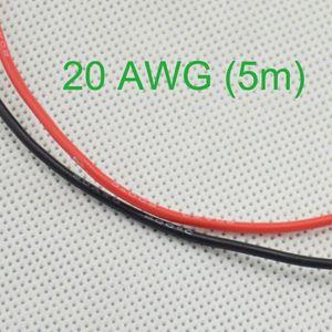 CÂBLE - FIL - GAINE 20AWG Câble Fil électrique souple cuivre , 2.5m Ro