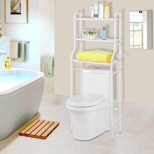 COLONNE - ARMOIRE WC 3 étages étagère de salle de bain/WC Espace Svaer/