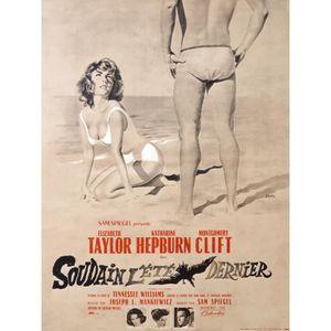 AFFICHE - POSTER SOUDAIN L'ETE DERNIER reproduction poster de ciném