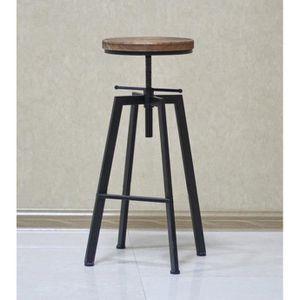 Tabouret De Bar De Peintre Sur Vis Design Luxe Loft Style