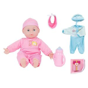 POUPON Coffret poupon - bébé – poupée de 30 cm environ (A