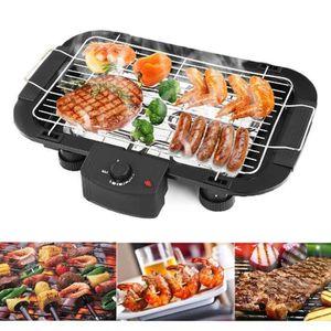 BARBECUE DE TABLE 2000W Barbecue électrique de Table Cuisson Grille