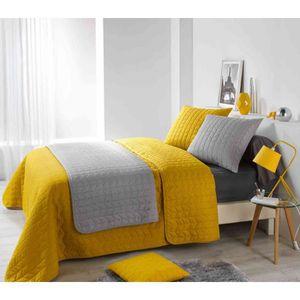 couvre lit jet de lit achat vente couvre lit jet de lit pas cher soldes d s le 9. Black Bedroom Furniture Sets. Home Design Ideas
