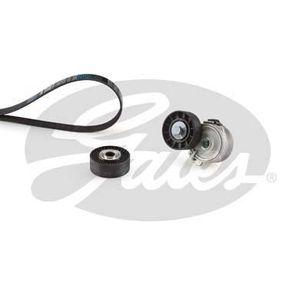 COURROIE TRAPÉZOÏDALE GATES Kit courroie d'accessoire Micro V K066PK1750