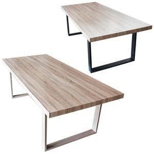 Table Bois Beautiful Litmange Debout Bois Metal Cozy Table Salle A