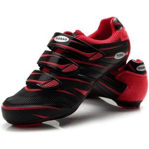 CHAUSSURES DE VÉLO chaussures route pour Shimano SPD vélo Verrouiller
