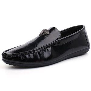 MOCASSIN Hommes Mocassins PU Cuir Chaussures Mocassins De B