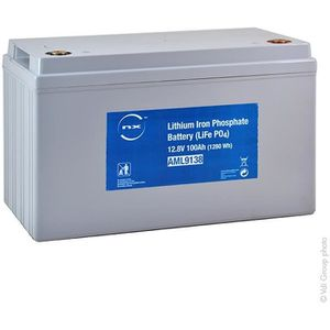 Batterie téléphone Batterie lithium fer phosphate UN38.3 12V 100Ah M8
