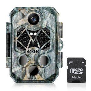 PIÈGE PHOTOGRAPHIQUE Enkeeo Caméra de chasse Caméra de Camouflage PIEGE
