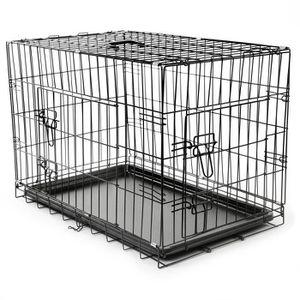 CAISSE DE TRANSPORT TRESKO Cage de transport pliable pour Chiens XL 75