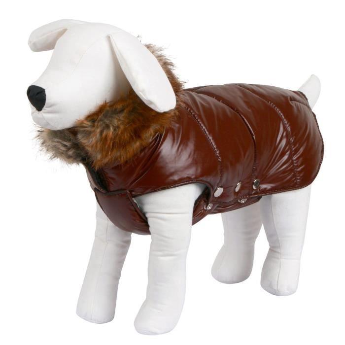 KERBL Manteau Kitzbühel XXS 25cm pour chien - Brun