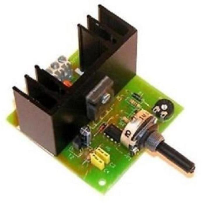 module regulateur variateur de vitesse moteur 6a 18 24v cc achat vente kit amplificateur. Black Bedroom Furniture Sets. Home Design Ideas