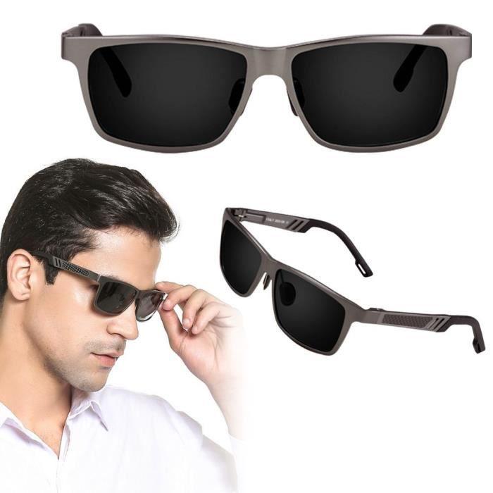 Mode lunette de soleil des lunettes polarisées en aluminium pour l ... 8adb9a9707ad