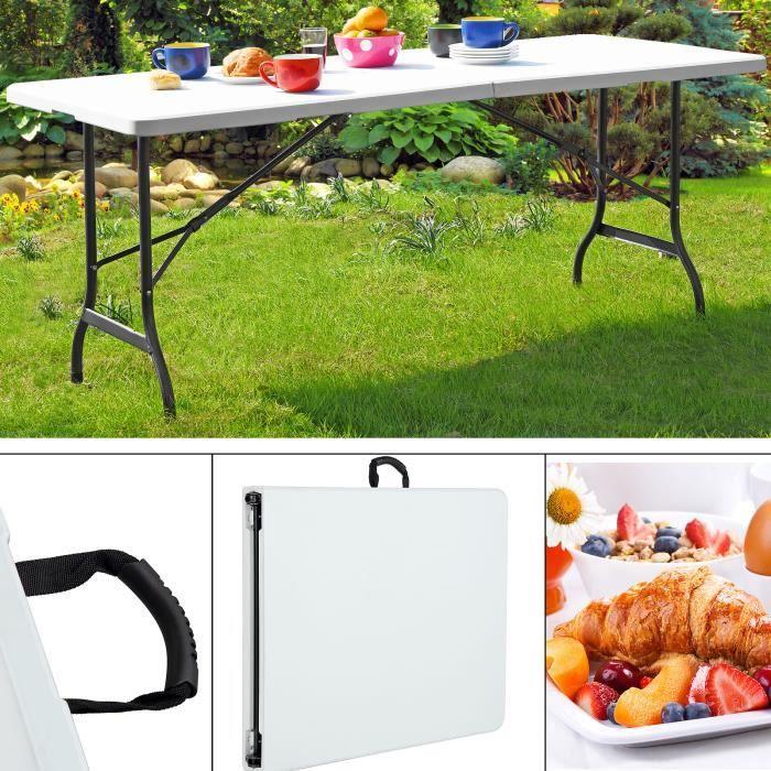 Table de jardin largeur 80 cm - Achat / Vente Table de jardin ...