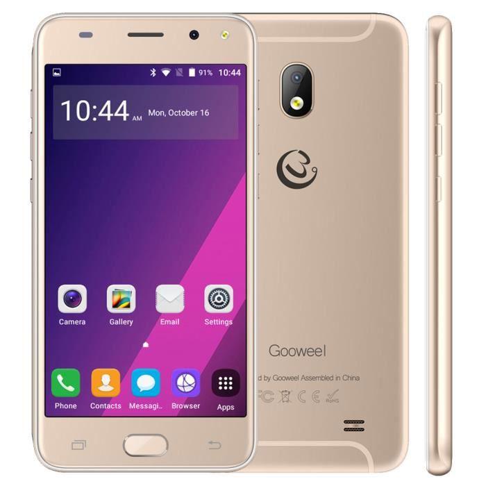 """SMARTPHONE Smartphone 3G Gooweel S7 4 Go 5"""" or"""