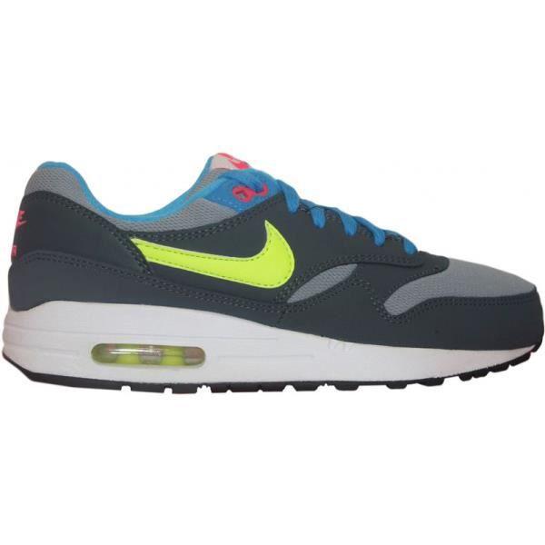 buy popular 8ceef 98b22 BASKET Nike Air Max 1 (GS) Gris