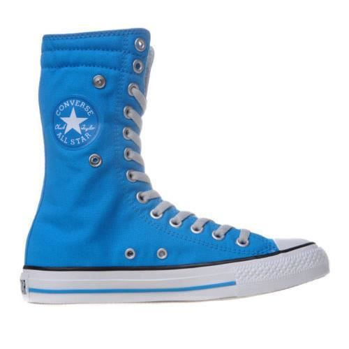 CONVERSE ALL STAR BOTTES CT KNEE BLEU TURQUOISE