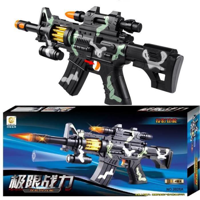 électrique Toy Guns Pour Garçons Jouets Avec Son Et Lumière
