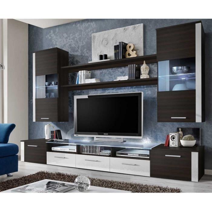 meuble tv 250 cm. Black Bedroom Furniture Sets. Home Design Ideas
