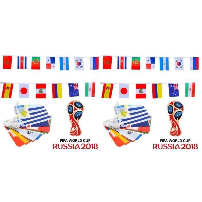 Coupe du monde 2018 en russie guirlande banderole 32 - Coupe du monde 2018 pays organisateur ...