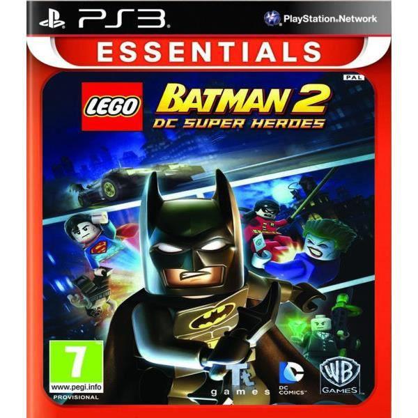 JEU PS3 Lego Batman 2 DC Superhearoes Essentials (PS3) - I