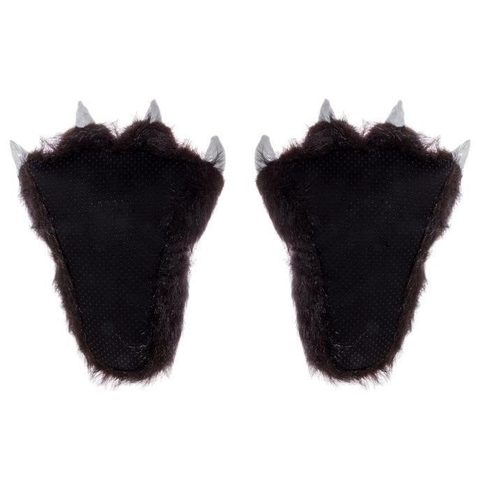 Animal en peluche Chaussons - Soft peluche chaussons pour enfants et adultes CPBGJ 5mtf9