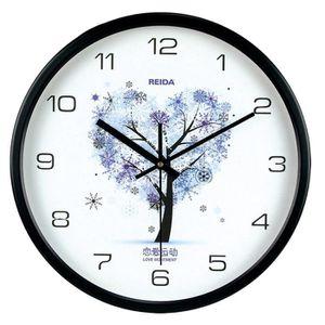 Horloge murale quartz silencieuse achat vente pas cher for Horloge murale silencieuse