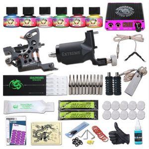 KIT DERMOGRAPHE Dragonhawk Tatouage Kit Machine À Tatouer Rotary F