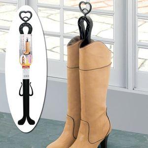 EMBAUCHOIR - TENDEUR Embauchoirs pour bottes noir X2 - 35cm