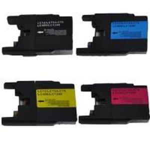 CARTOUCHE IMPRIMANTE Pack 4 cartouches compatible BROTHER LC1240