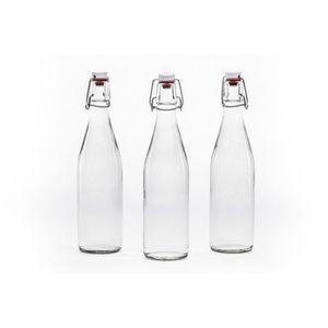Verre à vin CASA VETRO 20 Bouteilles x 1000 ml BUEG Swing Top