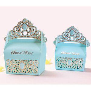 BOÎTE À DRAGÉES 100pcs les coffrets cadeaux de mariage de bonbons